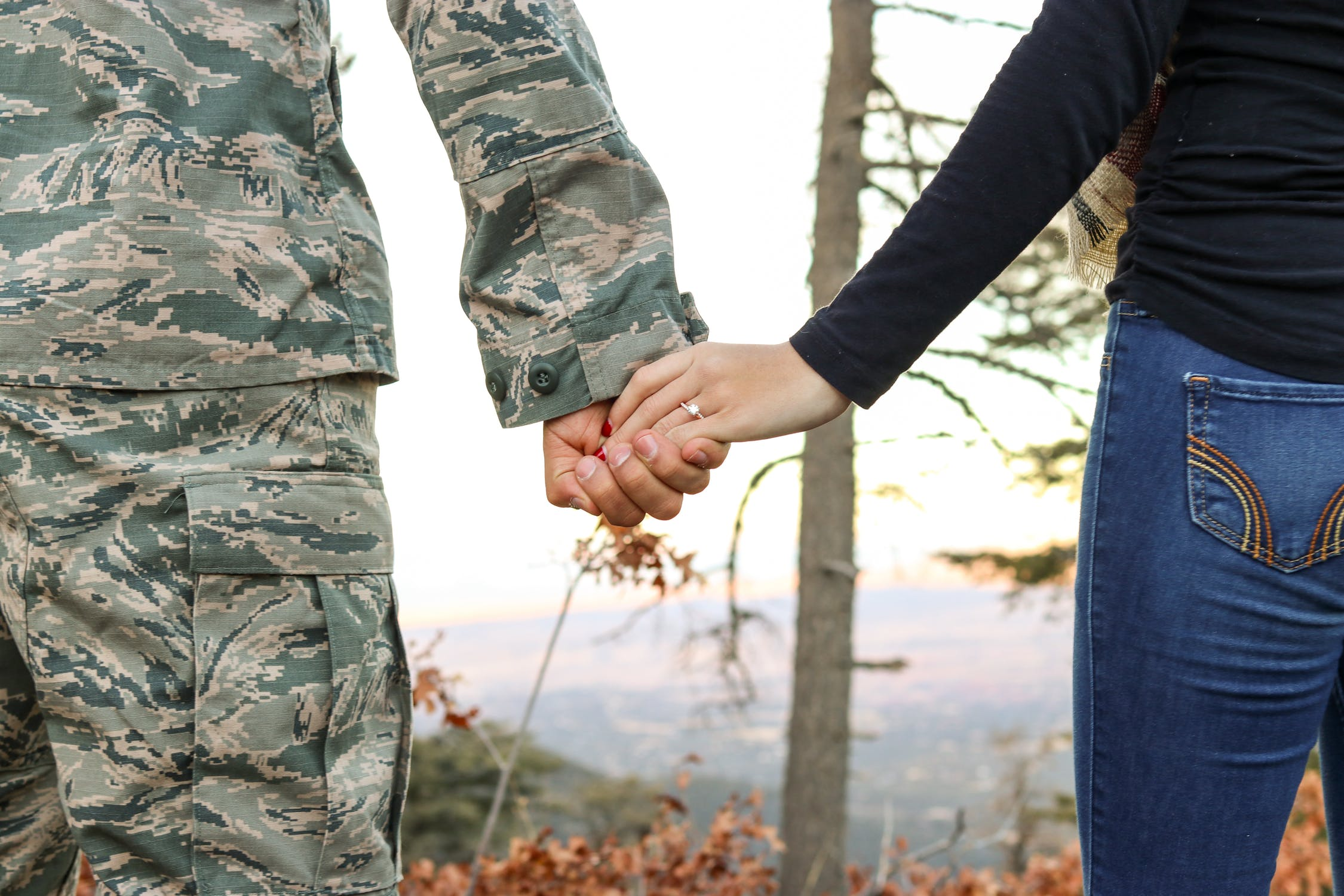 Strong Relationships May Reduce Risk of Military Suicides